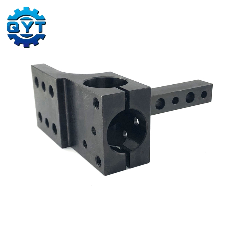 4 axis cnc machining C45 material Black automation and EGT cnc machining